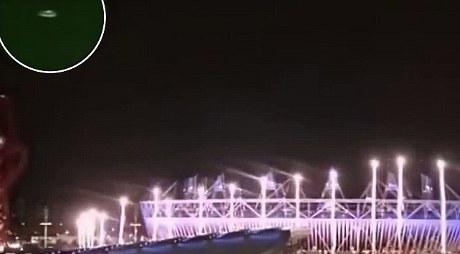 penampakan ufo olimpiade 2012