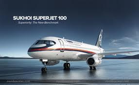 sukhoi- uperjet 100